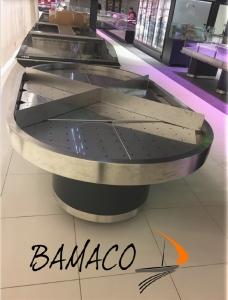 installation BAMACO ilôt ref Super U les essarts
